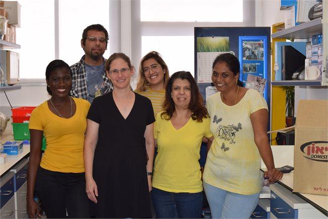 Lab members Rosh Hashanah 2019